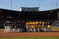 Both Teams Of the 2014 Alumni Game
