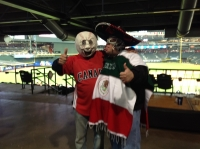 The Masked Mexican and The Head of Baseball